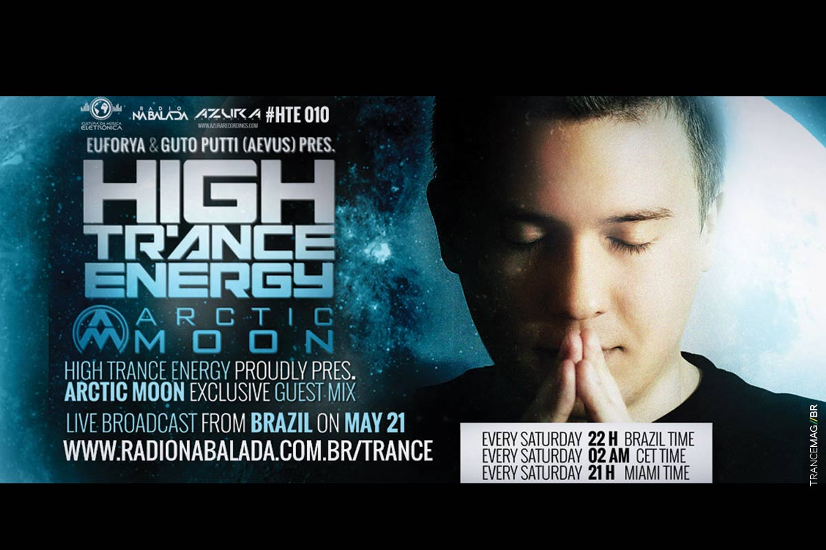 Arctic Moon no programa nacional High Trance Energy