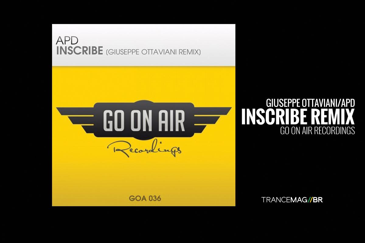 """Giuseppe Ottaviani e todo o encanto do trance em seu remix para """"Inscribe"""" de APD"""
