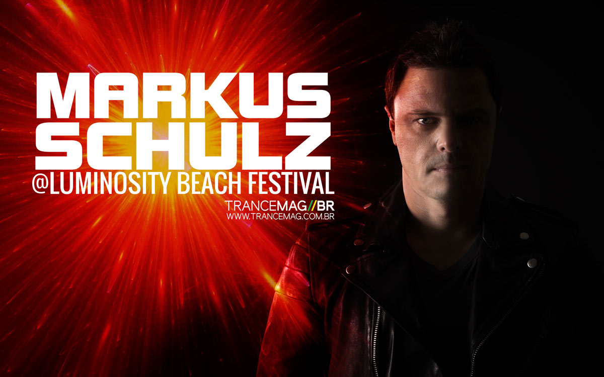 MArkus Schulz libera seu set gravado no Luminosity Beach Festival.