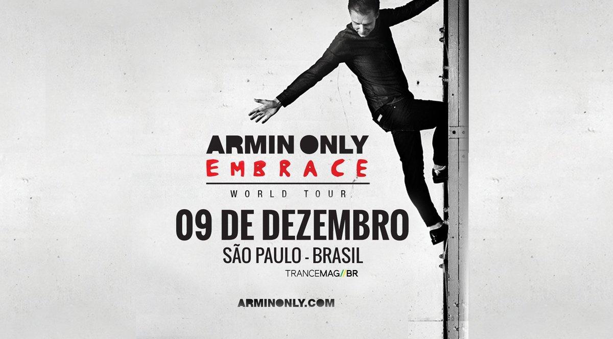 Armin van Buuren Armin Only Embrace dia 09 de Dezembro no Anhembi