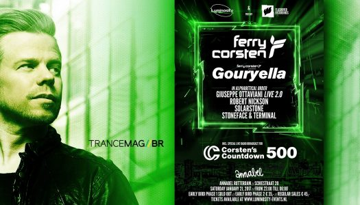 Ferry Corsten comemora 500 episódios do seu programa Corsten's Countdown