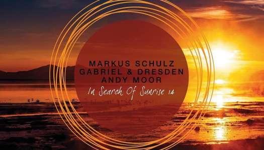 Markus Schulz, Gabriel & Dresden e Andy Moor apresentam a compilação In Search of Sunrise 14