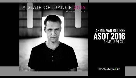 """Armin Van Buuren e o lançamento da compilação anual """"A State Of Trance 2016"""""""