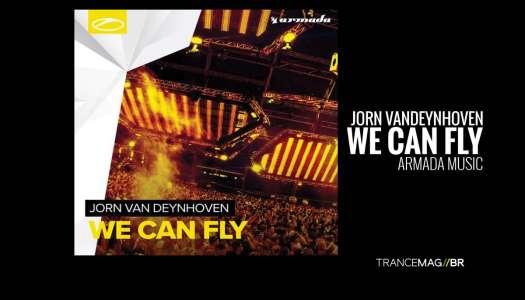 "Jorn van Deynhoven e o seu novo single ""We Can Fly"""