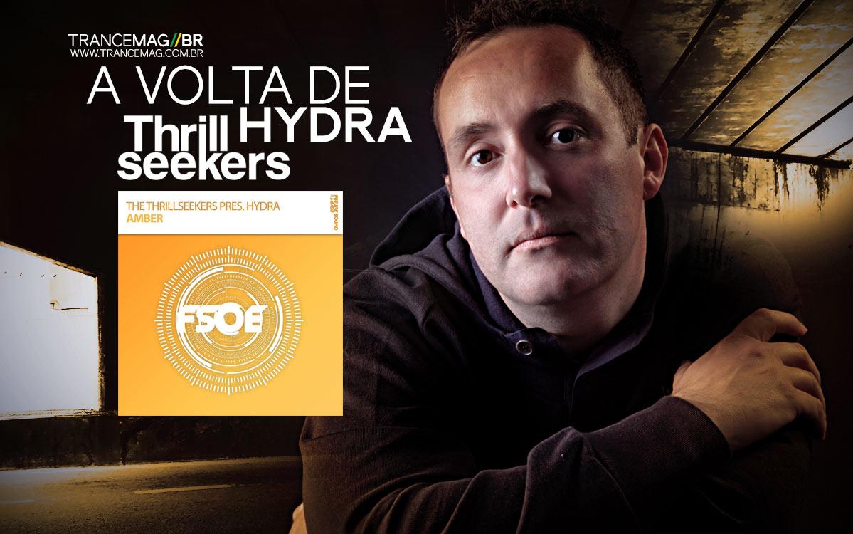 The Thrillseekers trará de volta seu alias Hydra com a track 'Amber'