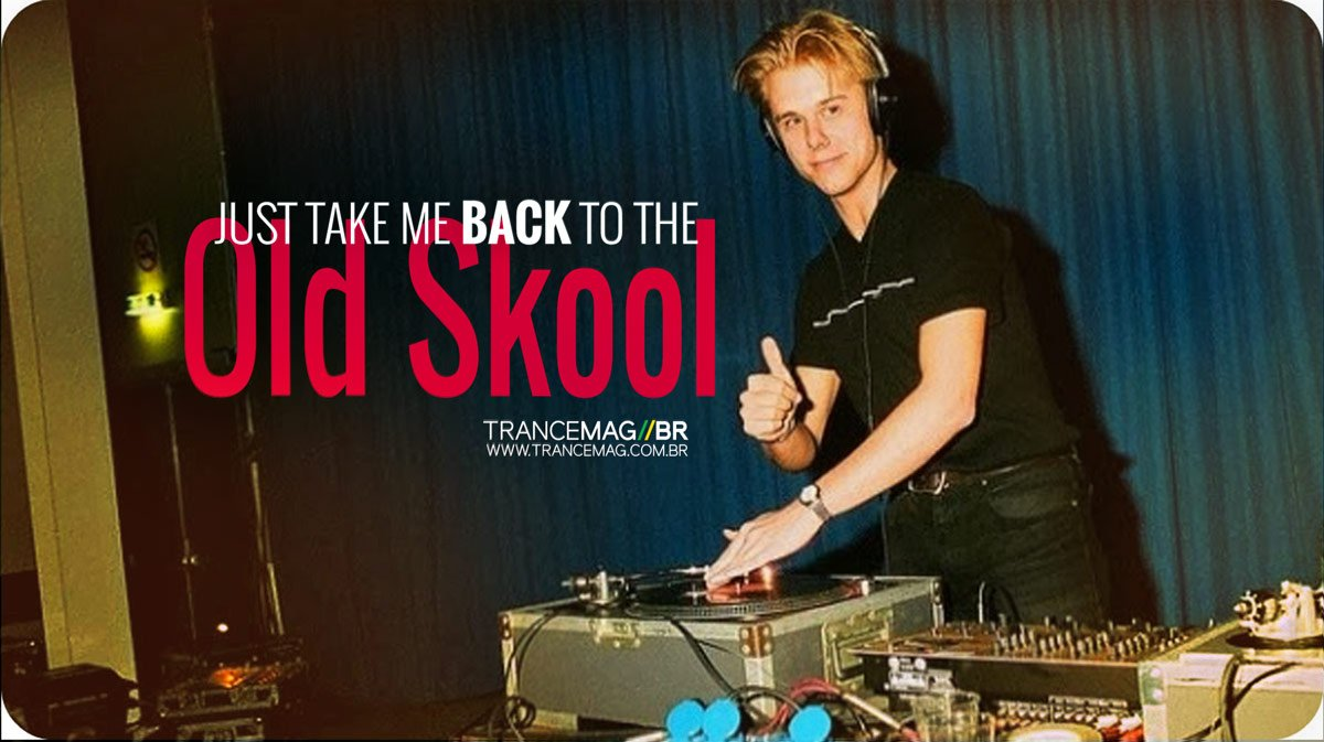 "Armin van Buuren anuncia mini álbum intitulado ""Old Skool""."