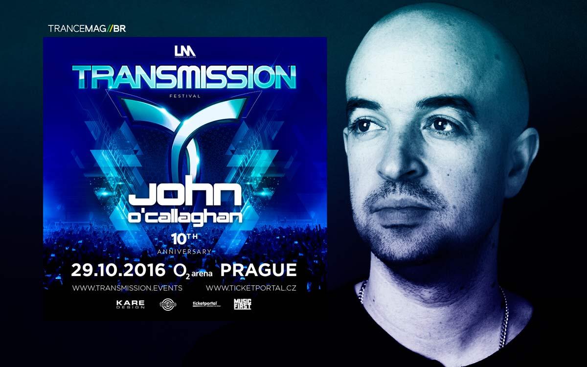 John O' Callaghan mais um nome de peso para o TRANSMISSION FESTIVAL.