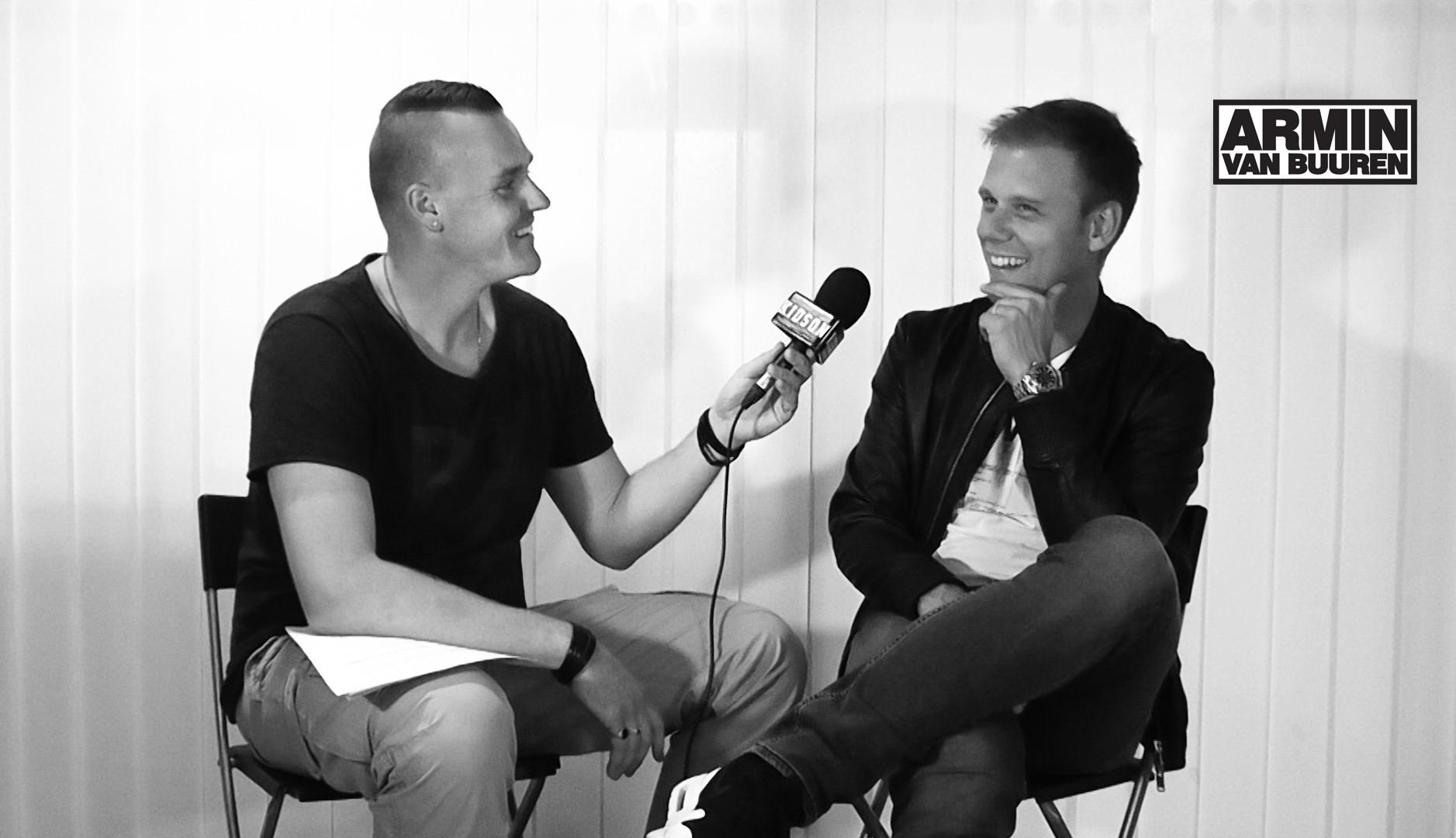Entrevista exclusiva de Viktor Kidson com Armin Van Buuren em Estocolmo