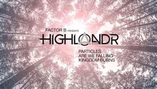 Factor B apresenta seu novo projeto 'Highlandr' e lança novo EP com três tracks.