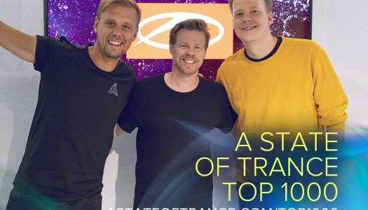 Armin van Buuren revela as 950 melhores tracks escolhidas pelo público para o ASOT 1000.